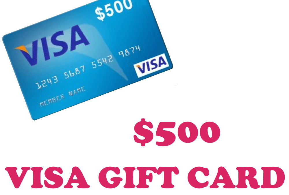Congratulations to our $500 VISA gift card winner!